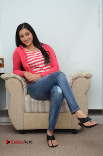 Telugu Actress Mouryani Latest Pos in Blue Denim Jeans  0092.JPG