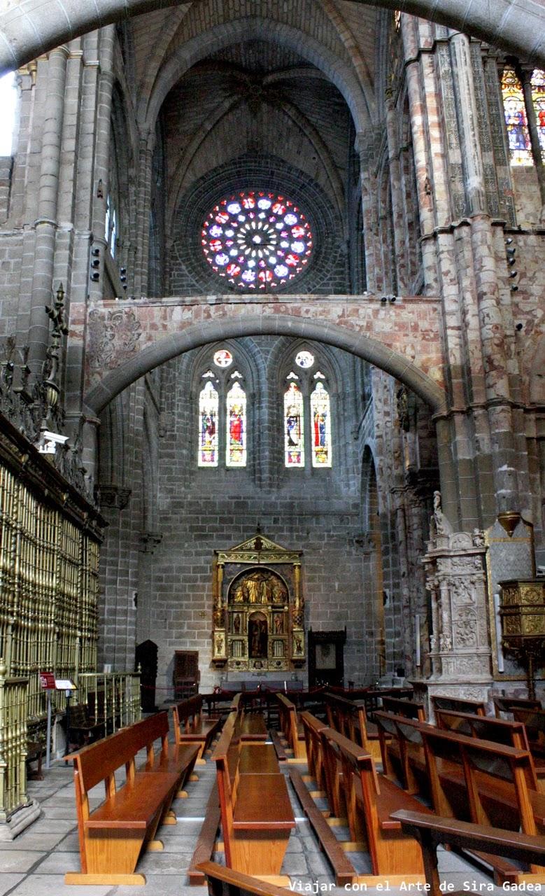Catedral Ávila crucero entibos