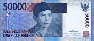 Gambar uang pecahan 50 ribu