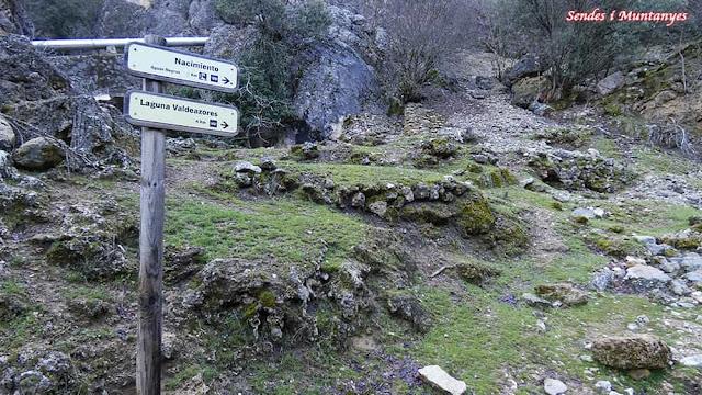 Dirección a la laguna, Nacimiento río Borosa, Pontones, Sierra de Cazorla, Jaén, Andalucía