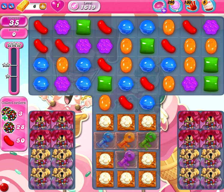 Candy Crush Saga 1619