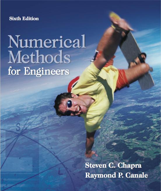 metodos numericos para ingenieros chapra canale