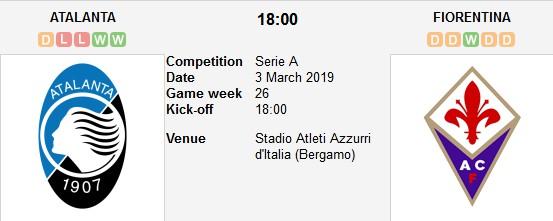 atalanta vs fiorentina live