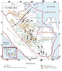 Struktur Geologi pada cekungan geologi Sumatera Bagian Selatan