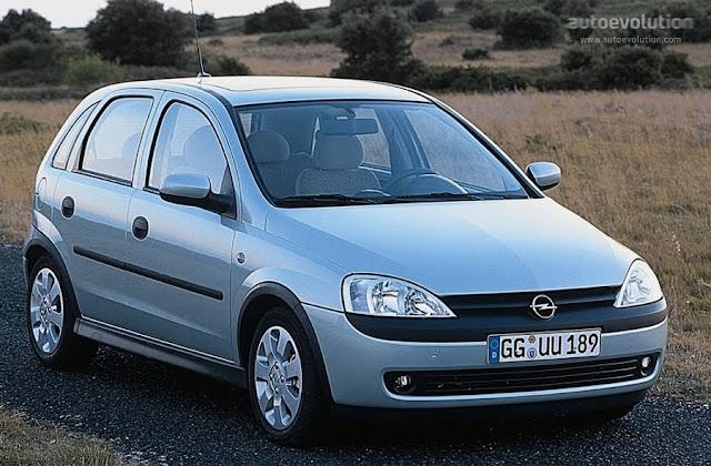 Opel Corsa 1.2 2003-2004