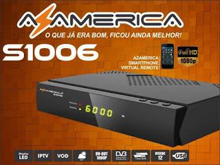 AZAMERICA - NOVA ATUALIZAÇÃO DA MARCA AZAMERICA S1006