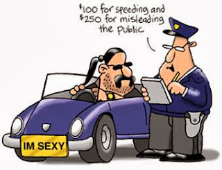 Police Job Humor Cartoon