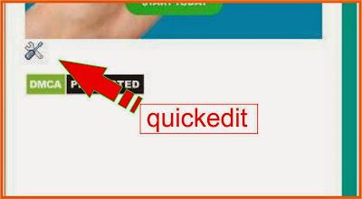 Cara menghapus quickedit blogspot,menghilangkan quickedit,