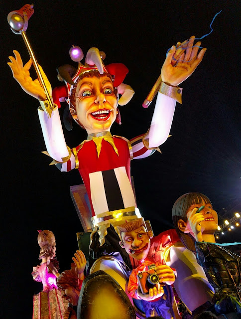 Nice Carnaval Parade of Lights - King of Media