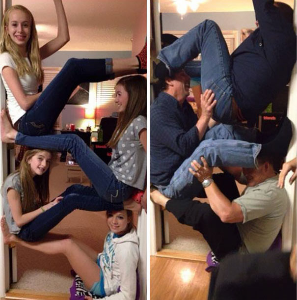 40 Photos Of The Most Hilarious Parents You Will Ever Meet - My Sister And Her Friends Challenged Their Dads, And Here's The Result