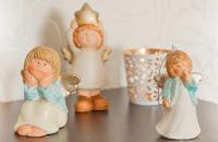керамические статуэтки ангелов