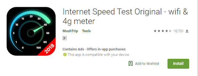 Internet Speed Meter Apk Full Version Free Download