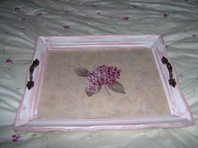 vintage frame tray
