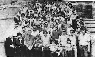 Participantes en el Torneo Abierto Internacional de Ajedrez de Berga 1983