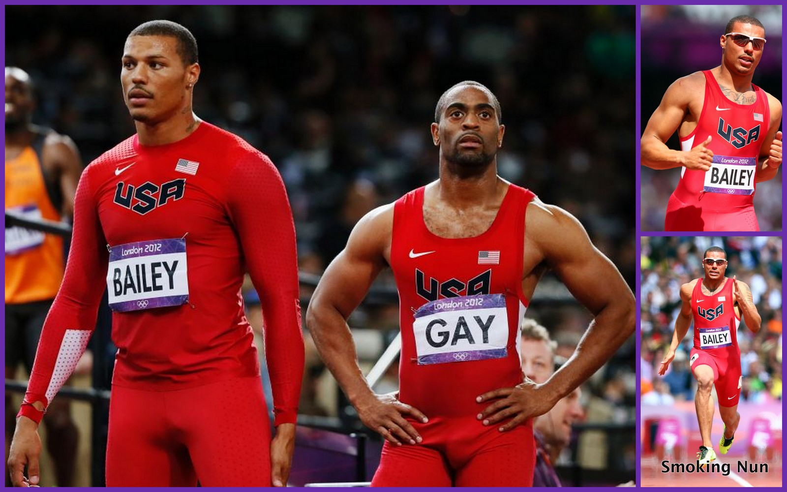 Tyson gay bulge
