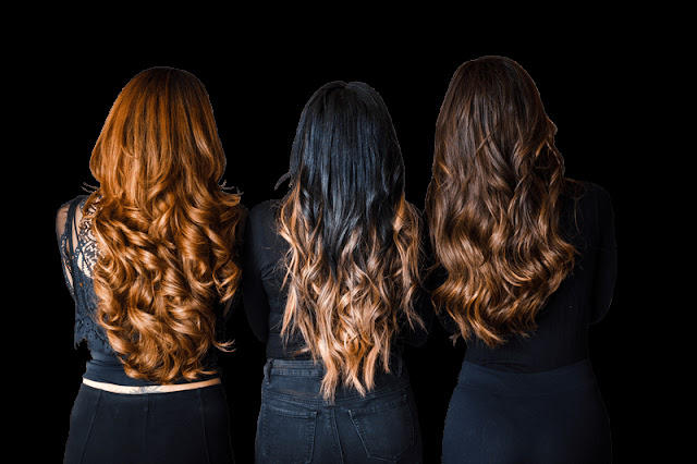 Go Glam with Hair Extensions