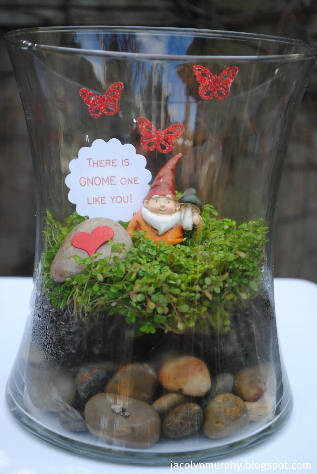 Projects Flower Gumball Valentine Pot Diy