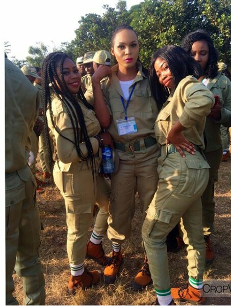 This Androgynous Corps member is clearly the centre of attention at Orientation camp (photos)