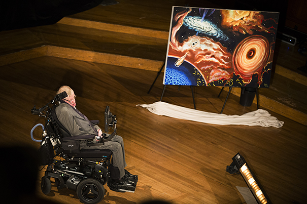Black holes Could be a Portal to A New Universe and Are Not An 'eternal prison' Says Stephen Hawking
