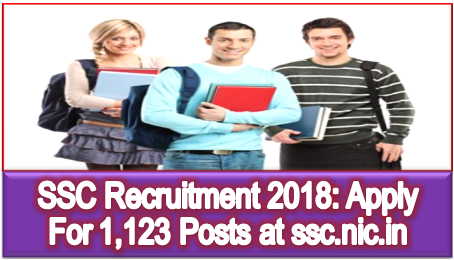 ssc-recruitment-2018-notification-1123-vacancies