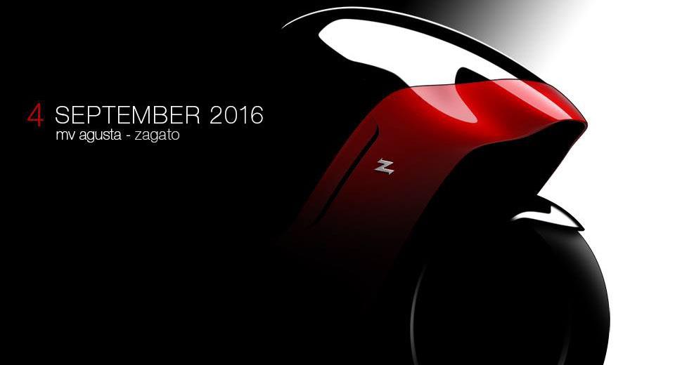 MV Agusta Teases Uncanny Zagato Motorcycle Concept