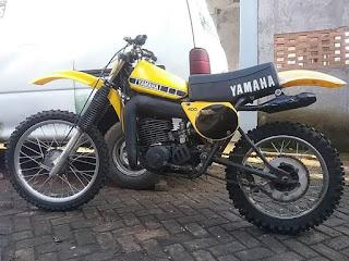 Monggo di jual trail kladik yz400 1977 rare item