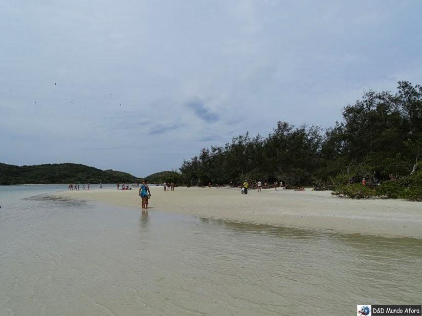 Cabo Frio (RJ) - um dia na Ilha do Japonês