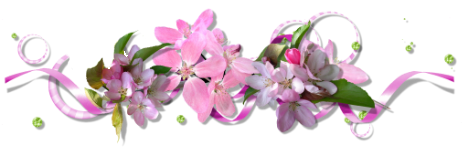 Разделители для текста цветочные