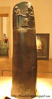 El Código Hammurabi, el Louvre, París