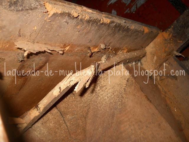 Proteger la madera insectos