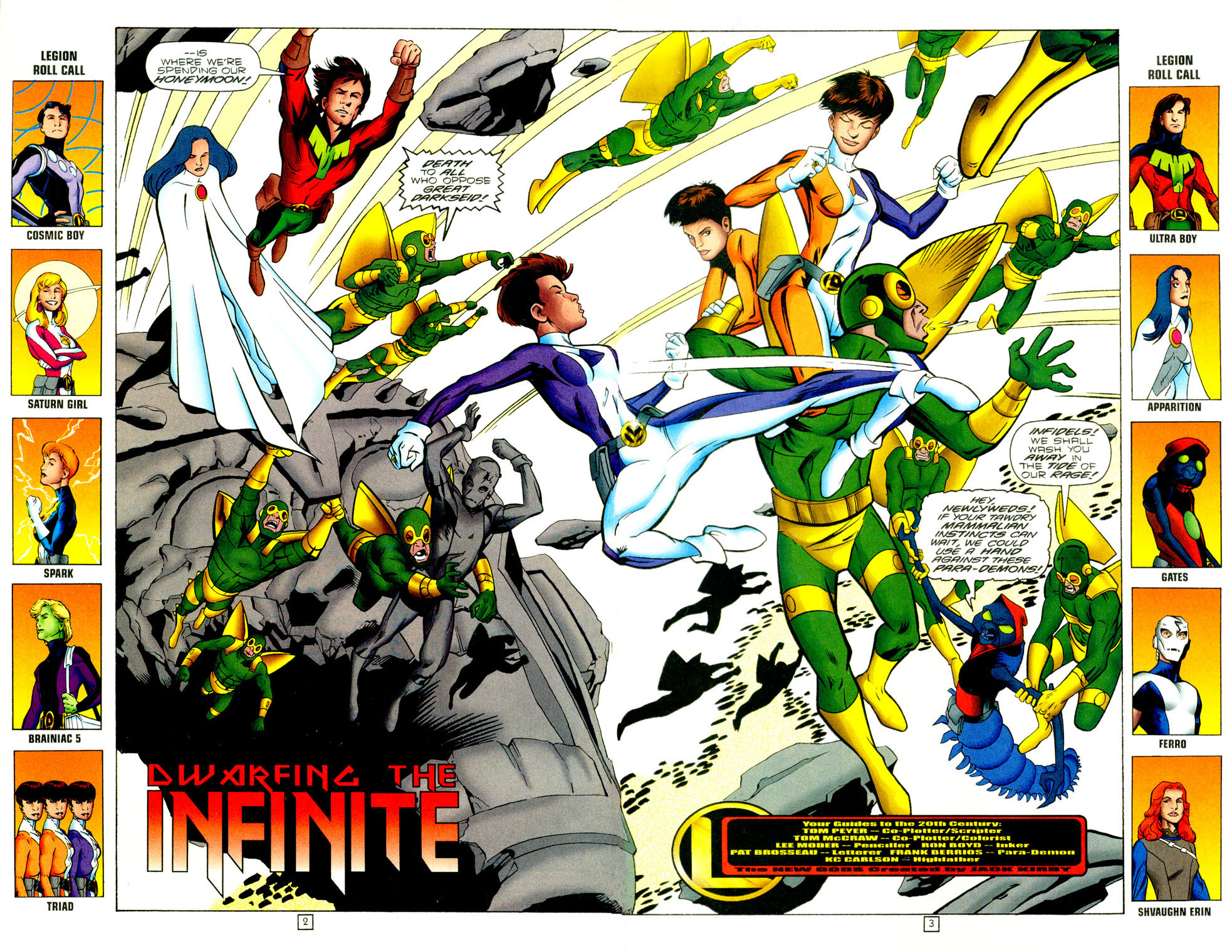 Legion of Super-Heroes (1989) 97 Page 2