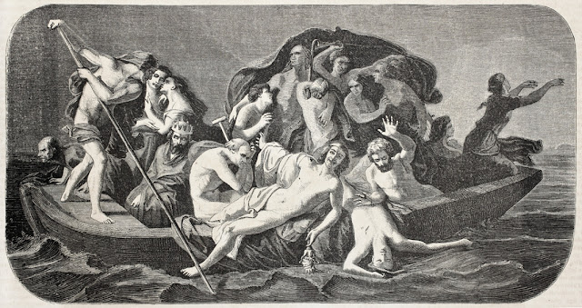 H βάρκα του Χάροντα: Feyen-Perrin - Illustration Journal Universel, Paris, 1857
