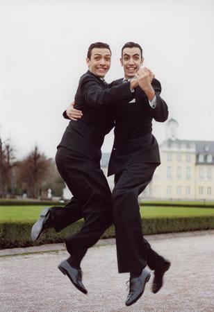 Resultado de imagen para hombres bailando tango