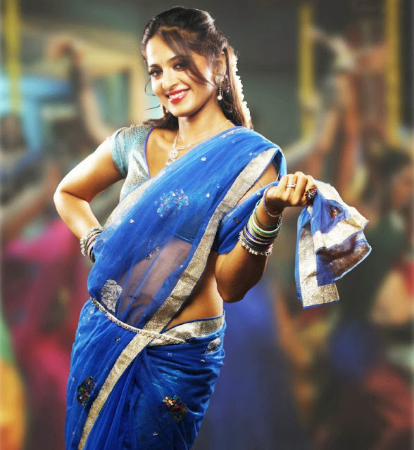 anushka-shetty-in-blue-sari-high-quality-photo