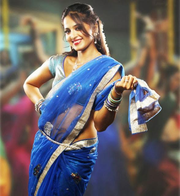 anushka-shetty-in-blue-sari-high-quality-photo
