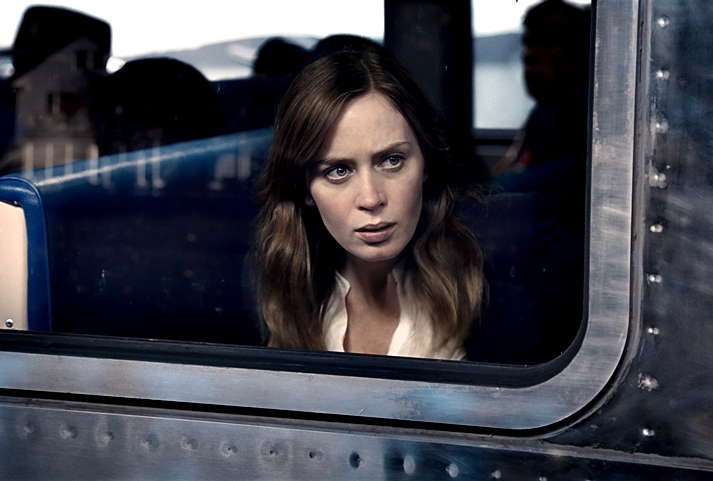 The girl on train