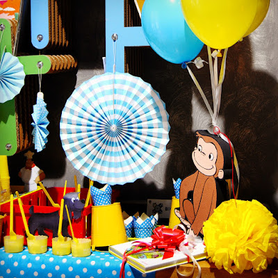 "Party di compleanno a tema ""Curioso come George"""