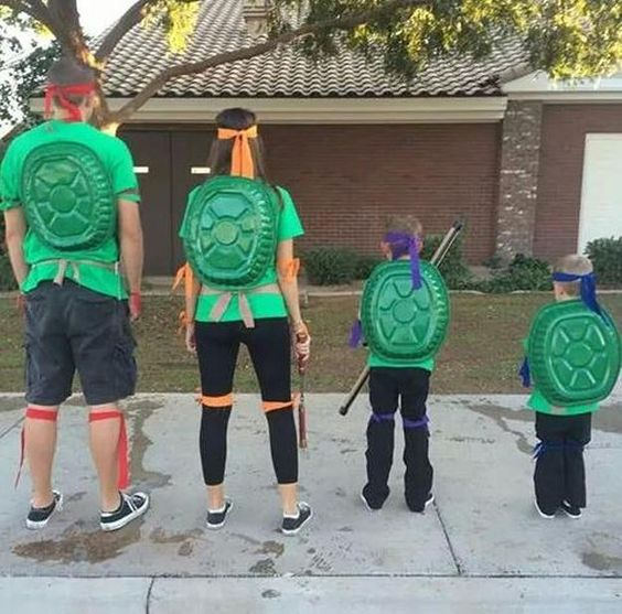 Family Ninja Halloween Costumes.Ultra Easy Diy Family Themed Halloween Costumes You Ll Want To Make First Time Mom And Dad