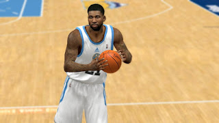NBA 2K13 Wilson Chandler Cyber Face Patch