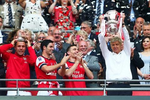 Wenger cùng Pháo Thủ đã từng nhiều lần đạt chức vô địch