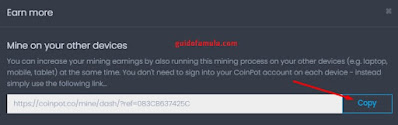 Tips mining untung banyak