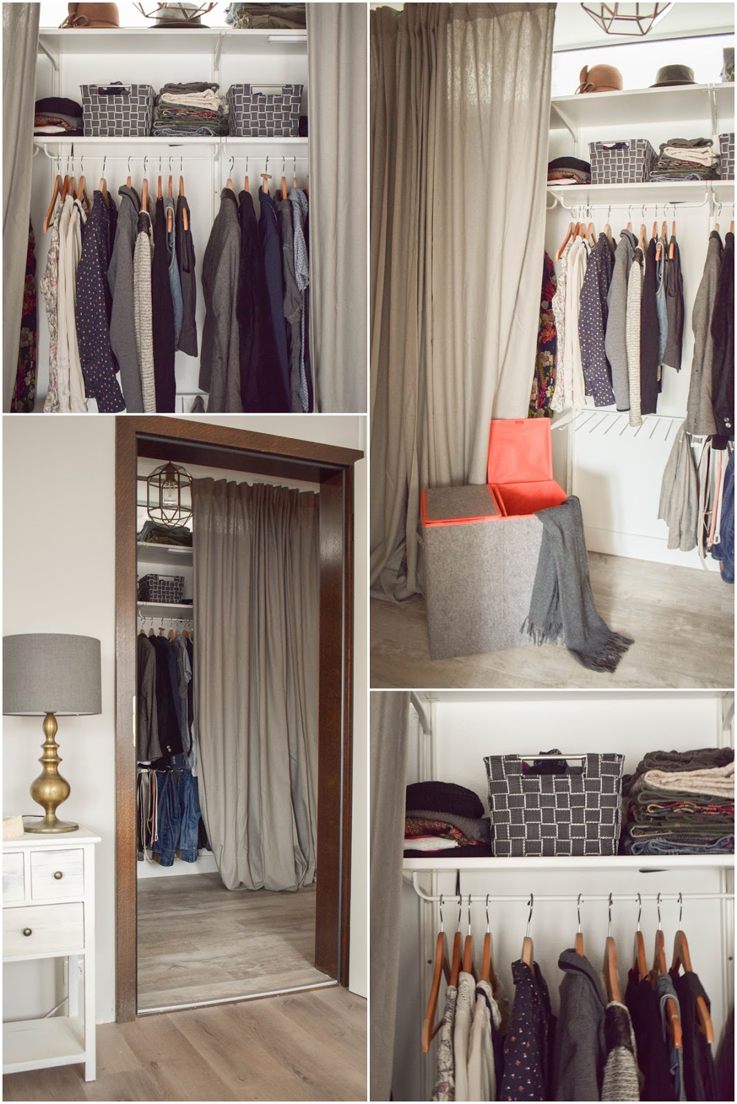 Mein offener Kleiderschrank. Perfekt verstaut und praktisch aufbewahrt. Tipps und Ratgeber für die Organisation