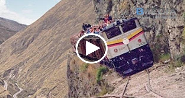 Video Jalan KERETAPI PALING BERBAHAYA dan EXTREME di Dunia !!