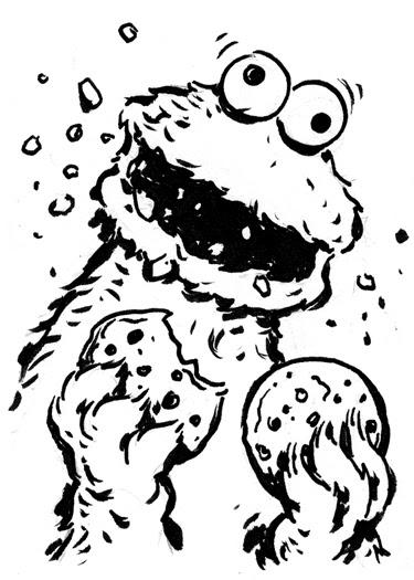 Niko's Ink: The Cookie Monster