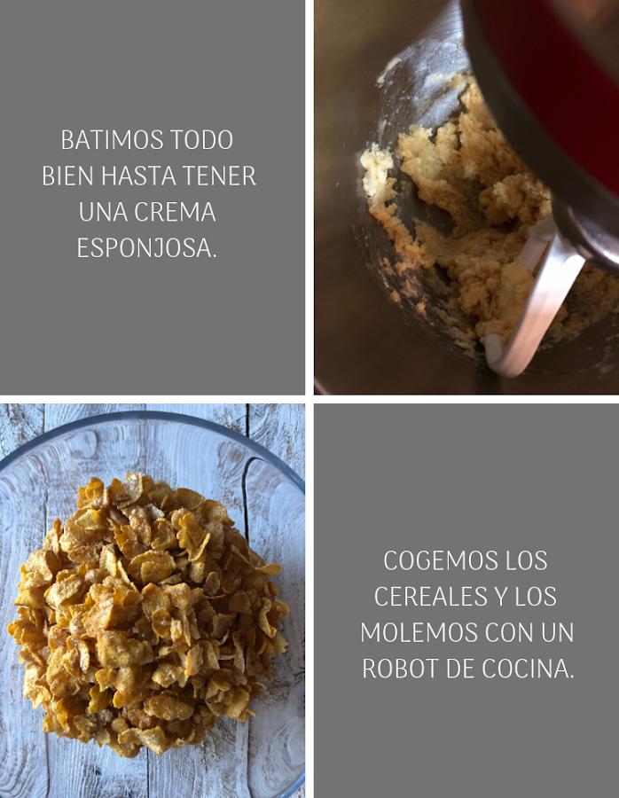 Preparación Bundt cake de cereales con miel