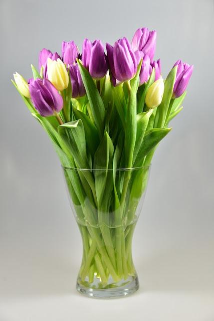wazon na tulipany