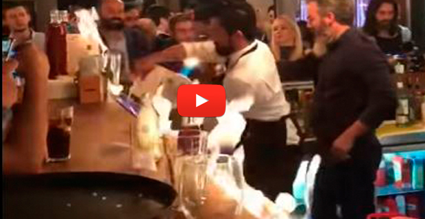 Accidente con fuego en el restaurante de Salt Bae en Estambul provocó varios heridos
