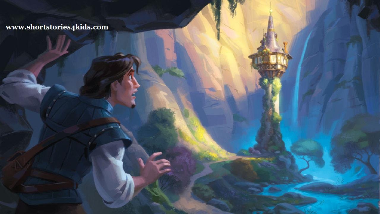 Princess Rapunzel English Short Stories For Kids
