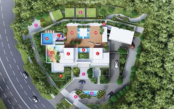 Kallang Riverside Site Plan