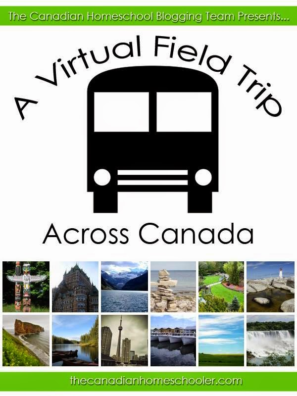 A round-up of posts on places to see and field trips ideas across Canada http://thecanadianhomeschooler.com/a-virtual-field-trip-across-canada/